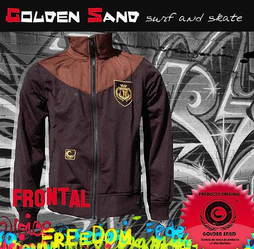 Golden Sand. Jumper Power black brown