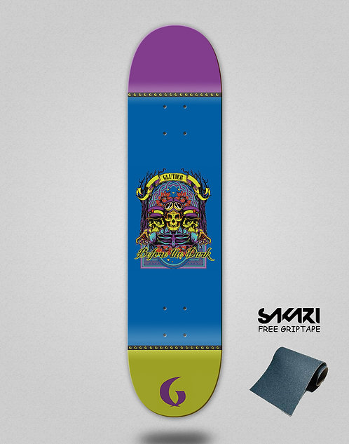 Glutier Before the dark skate deck