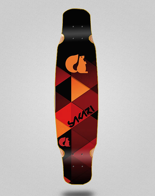 Sakari Ares longboard deck dance 46x9