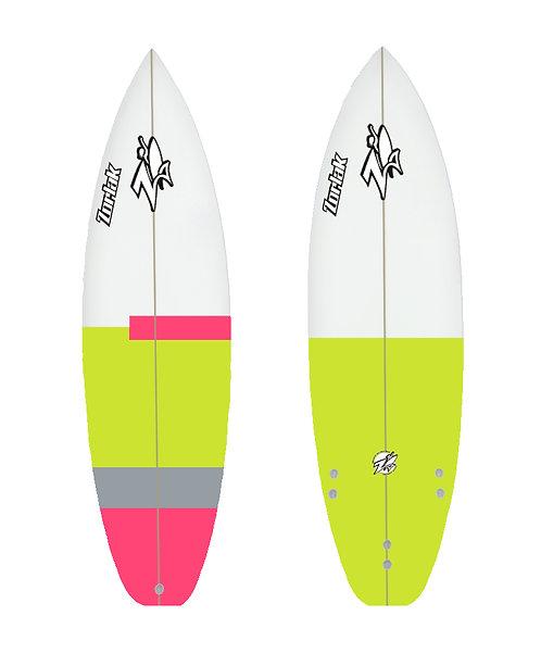 Zorlak surfboard shape 81