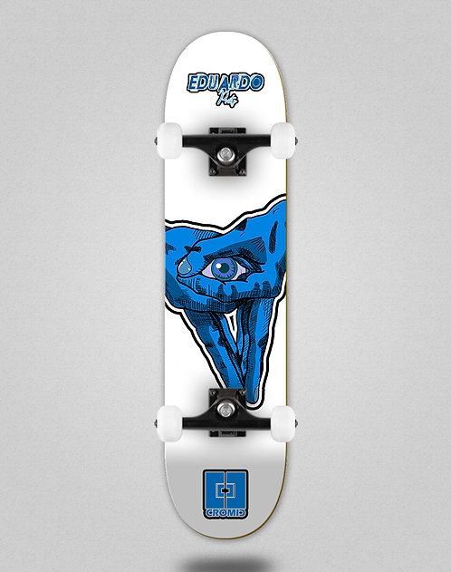 Cromic Eduardo Prieto Stamp white skate complete