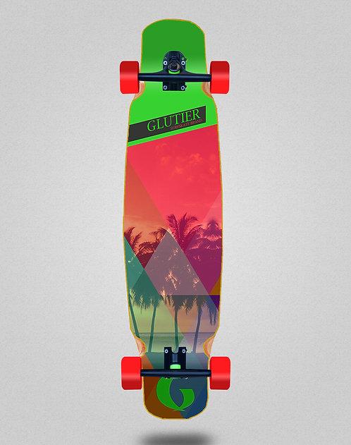 Glutier Caribbean longboard dance complete 46x9