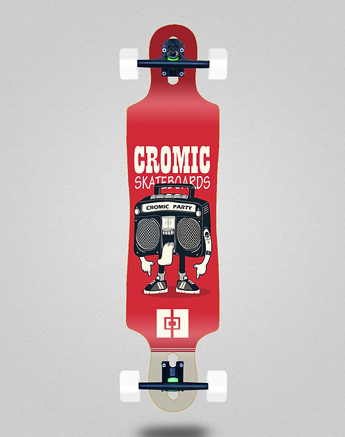 Cromic Party longboard complete 40x9
