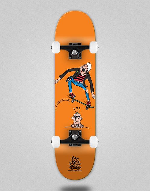 Wood light Forall orange skate complete