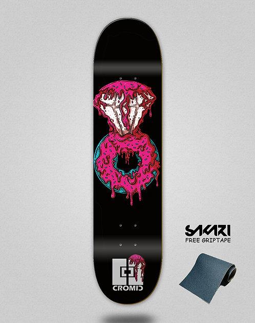 Cromic Donat luxury pink skate deck