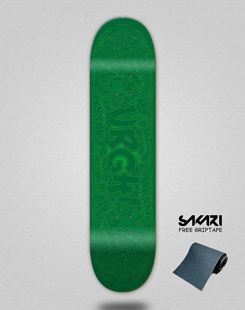 Urgh skate deck Garden green