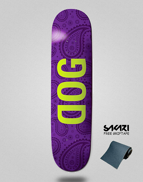 Dog skate deck TANCOWNY Maple 8.0