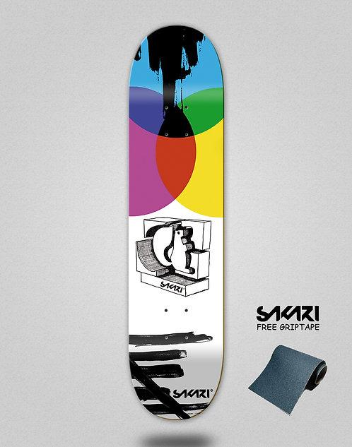 Sakari Chroma skate deck