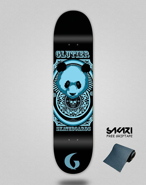 Glutier Kunfu skate deck