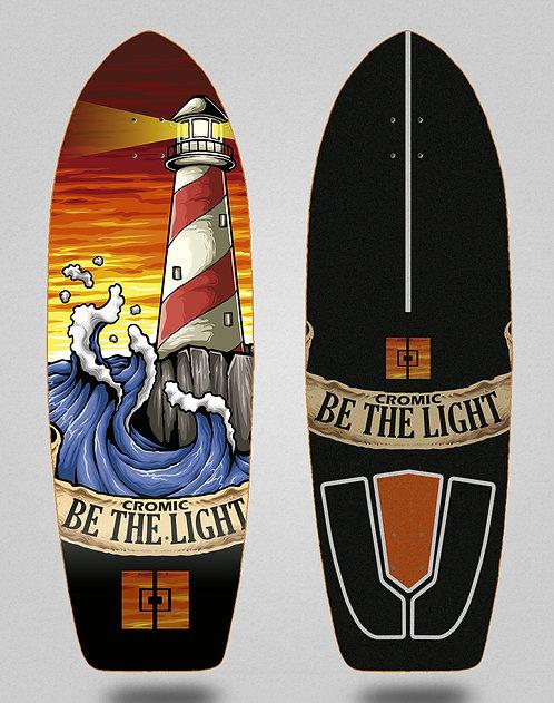 Cromic surfskate deck Be the light 29