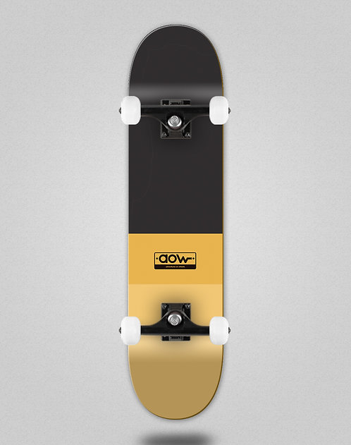 Aow fastskate classic yellow skate complete