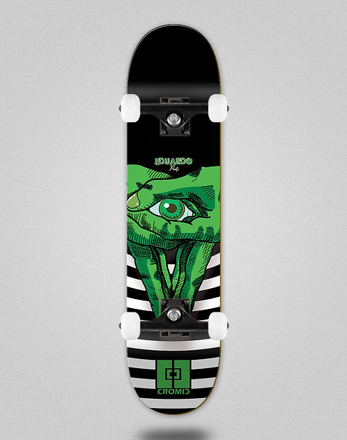 Cromic Eduardo Prieto Vision green skate complete
