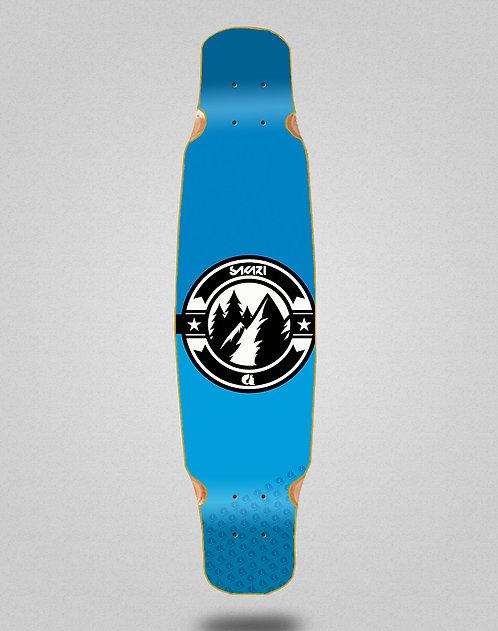 Sakari Downhill juice blue longboard deck dance 46x9