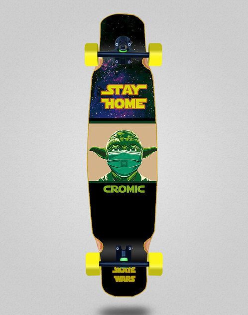 Cromic Covid Skate wars longboard dance complete 46x9