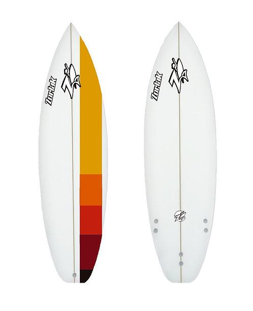 Zorlak surfboard shape 101