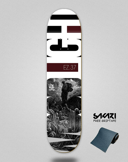 Wood light skate deck Testament ez.37