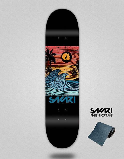 Sakari Cali dream orange skate deck