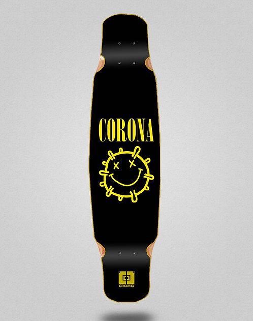 Cromic Covid Corona longboard deck dance 46x9