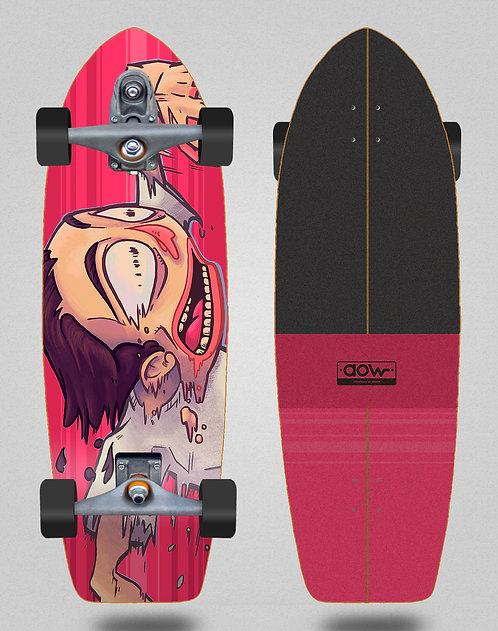Aow surfskate T12 trucks Fastskate red 30