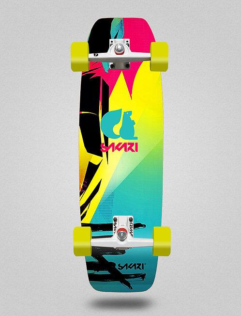 Sakari surfskate - Mataki 31,5