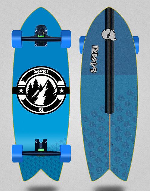Sakari cruiser Downhill juice blue 32 fish
