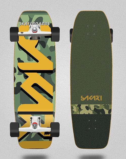Sakari surfskate - Camo 31.5 fat nose