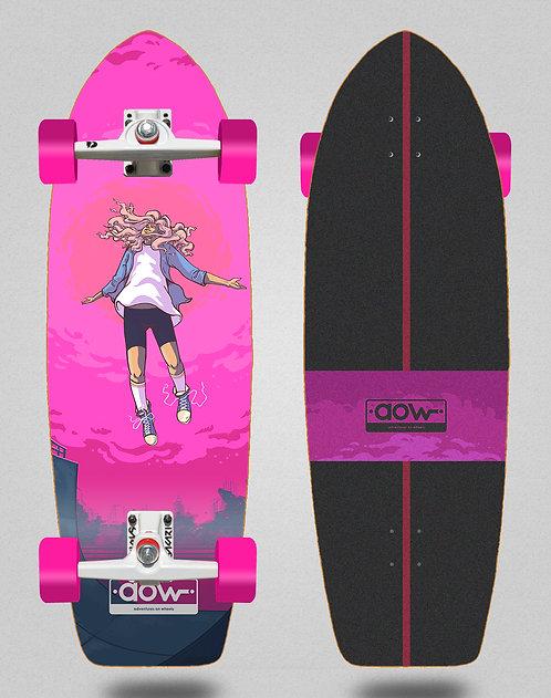 Aow surfskate SGI trucks Floating pink 30