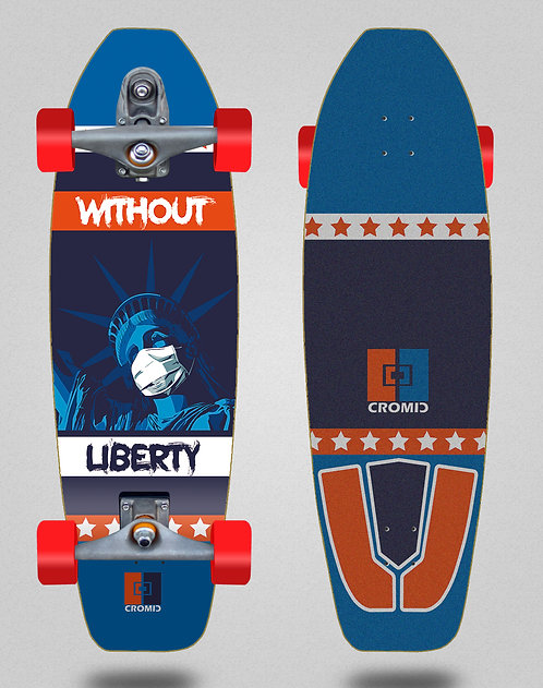 Cromic surfskate T12 trucks C19 Without liberty 31.5