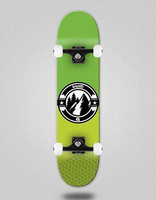 Sakari Downhill juice green skate complete