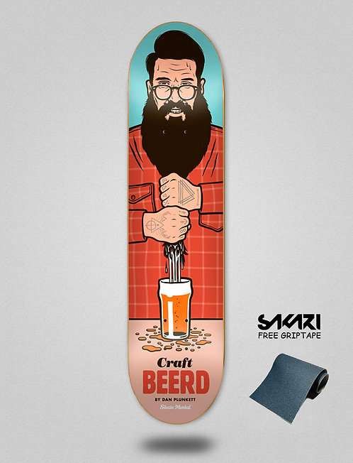 Skate Mental Punkett Craft Beerd 8.0