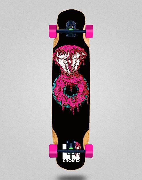Cromic Donat pink longboard complete 38x8.45