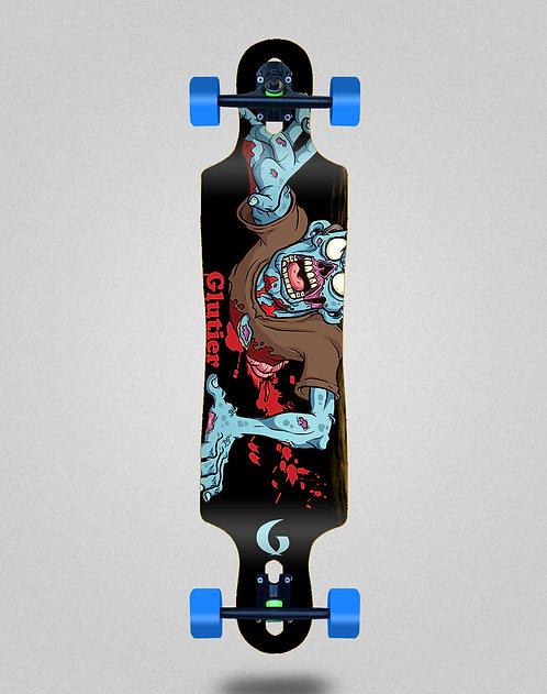 Glutier Final zombie longboard complete 40x9