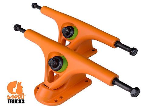 Sakari longboard trucks 180mm 45º(set 2) orange