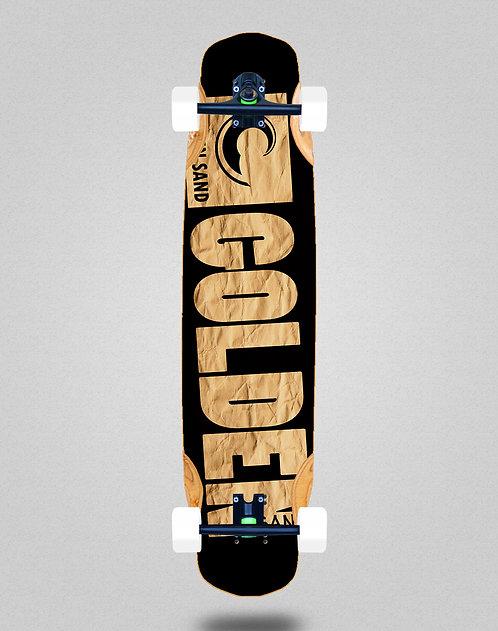Golden Sand Degraded carton longboard complete 38x8.45