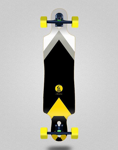 Glutier Barbeito longboard complete 40x9