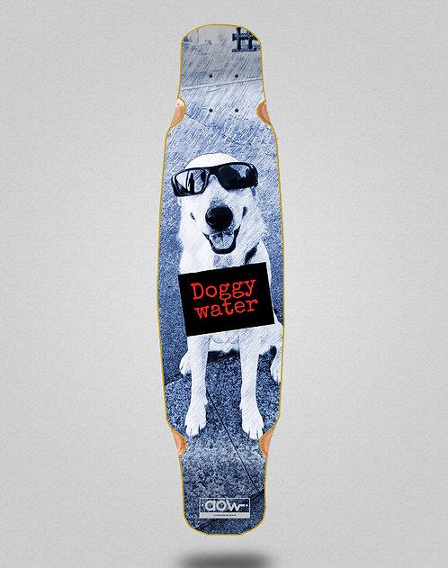 Aow Doggy water longboard deck bamboo dance 46x9