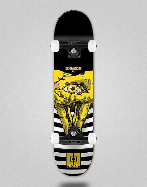 Cromic Eduardo Prieto Vision yellow skate complete