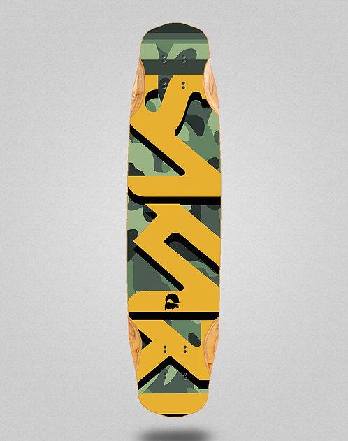 Sakari Camo longboard deck 38x8.45