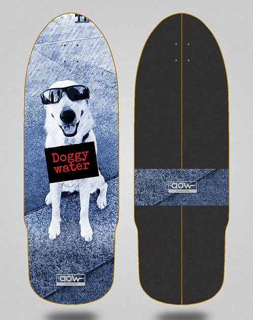 Aow surfskate deck Doggy water 32 bullet