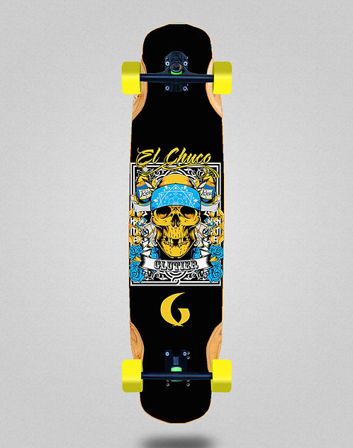 Glutier Chuco longboard complete 38x8.45