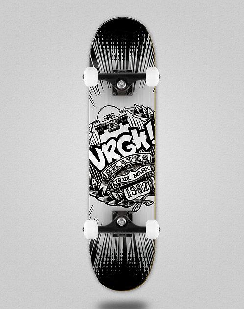 Urgh Trade black silver skate complete