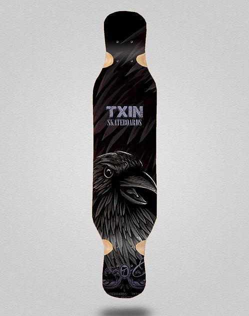 Txin Crow longboard deck 46x10