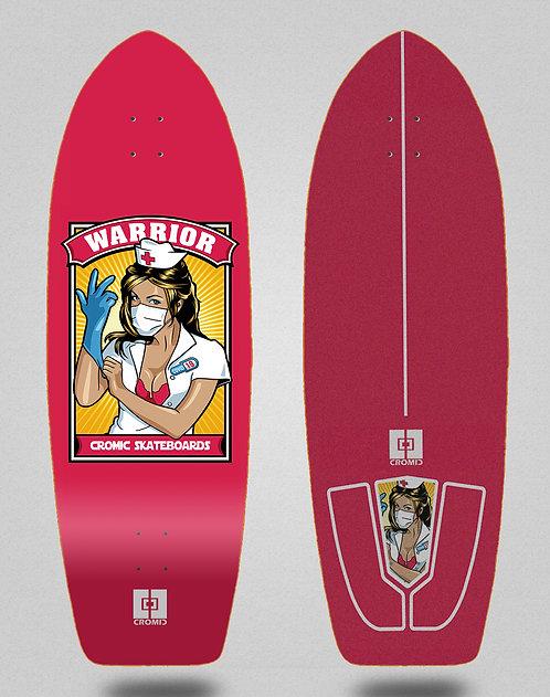 Cromic surfskate deck Covid Warrior 30