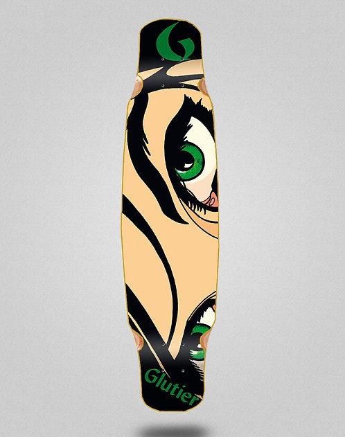 Glutier Drili eyes longboard deck dance 46x9