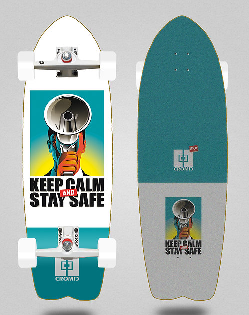 Cromic surfskate SGI Covid Keep calm 29 fish