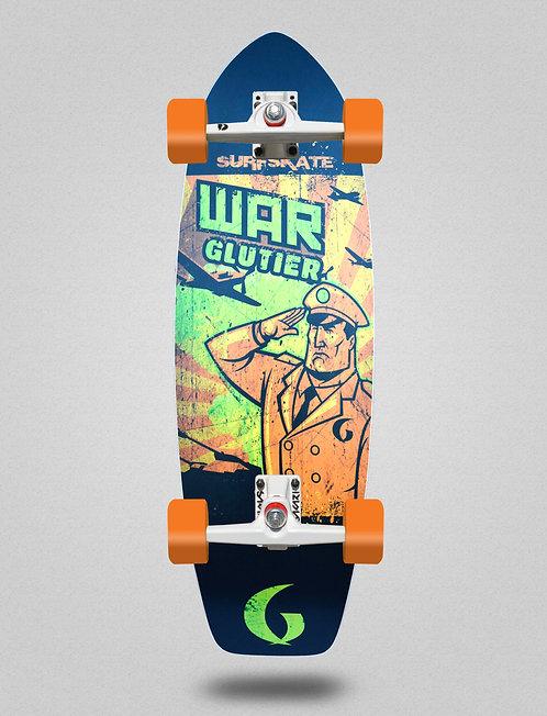 Glutier surfskate - War orange 31
