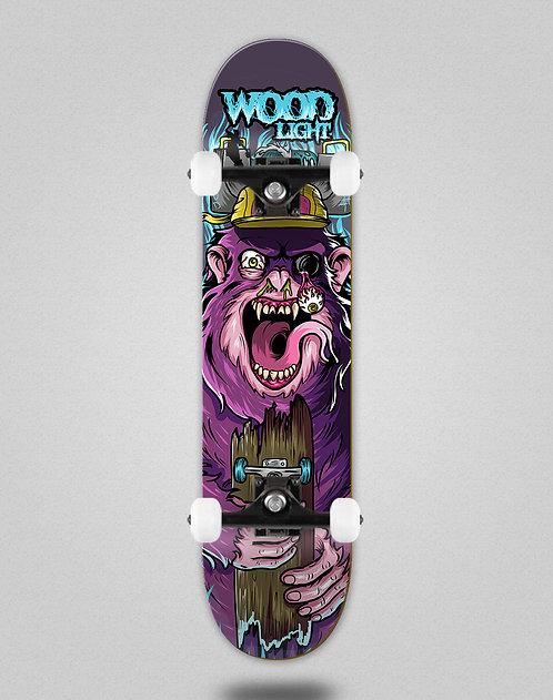 Wood light Freak show gorile skate complete