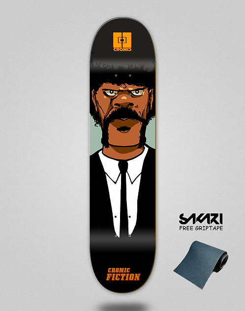 Cromic Fiction skate deck