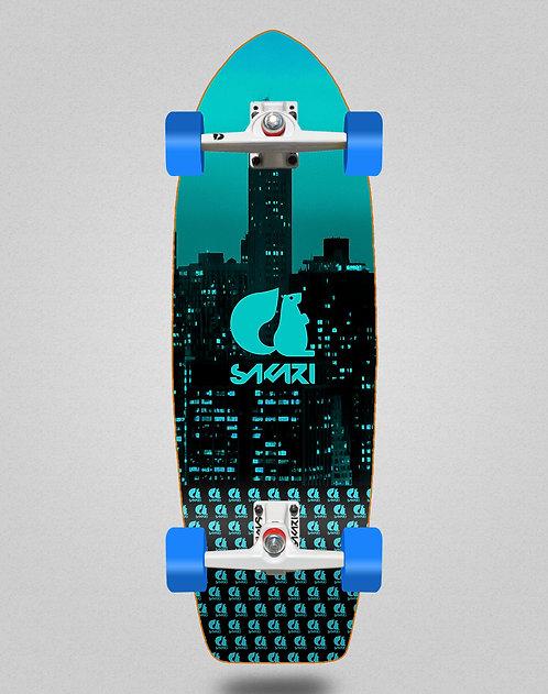 Sakari surfskate - City blue 29
