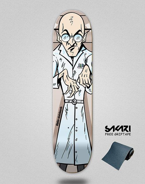 Glutier Villain doctor skate deck